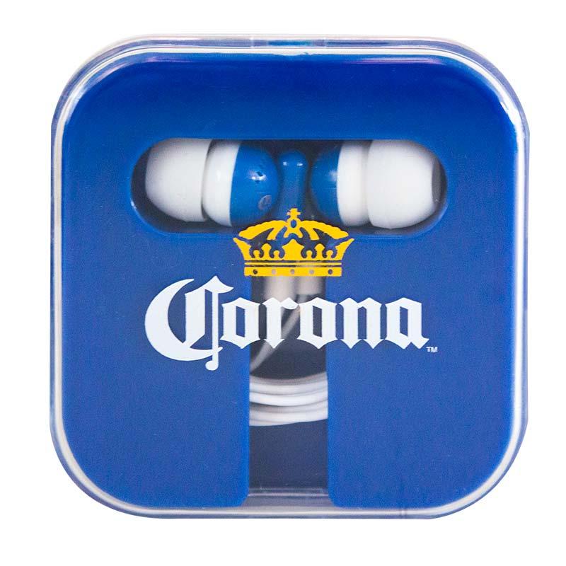 Corona Logo Earbuds