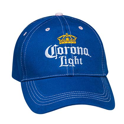 Corona Light Women's Blue And Pink Hat