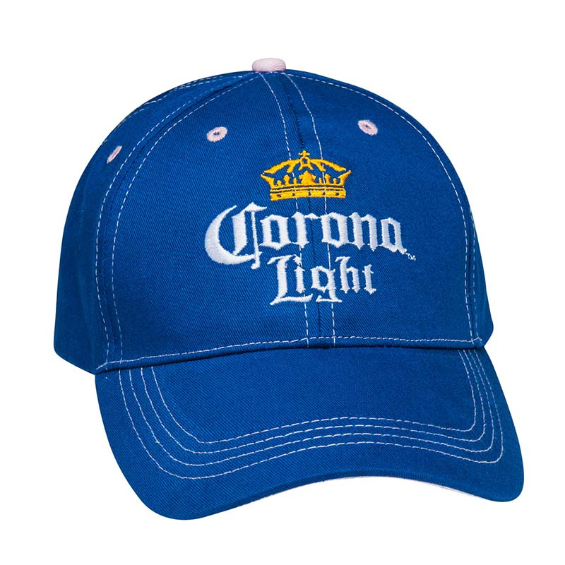 Corona Light Women's Beer Pink/Blue Hat