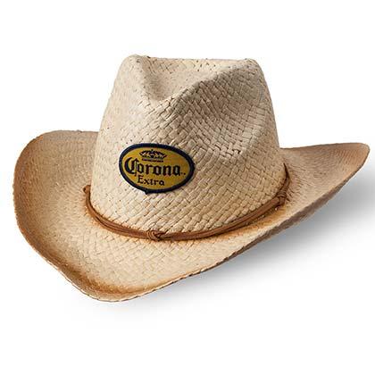 Corona Beer Straw Cowboy Hat
