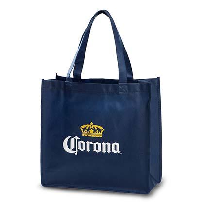 Corona Navy Blue Non Woven Tote Bag