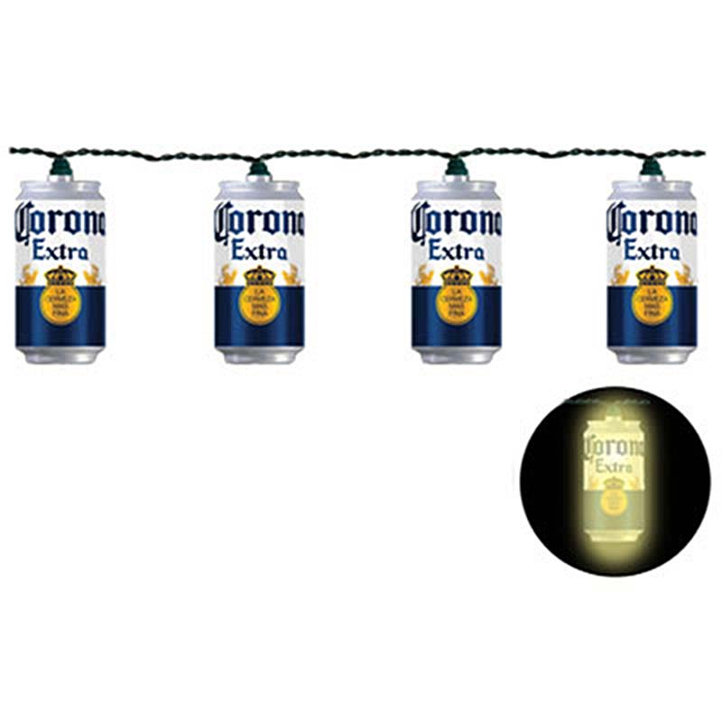 Corona Beer Can String Lights