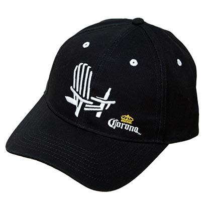 Corona Extra Black Chair Logo Hat