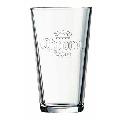 Corona Extra Stamped Logo Pint Glass