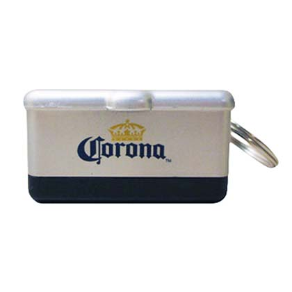 Corona Mini Cooler Keychain with Bottle Opener PLACEHOLDER
