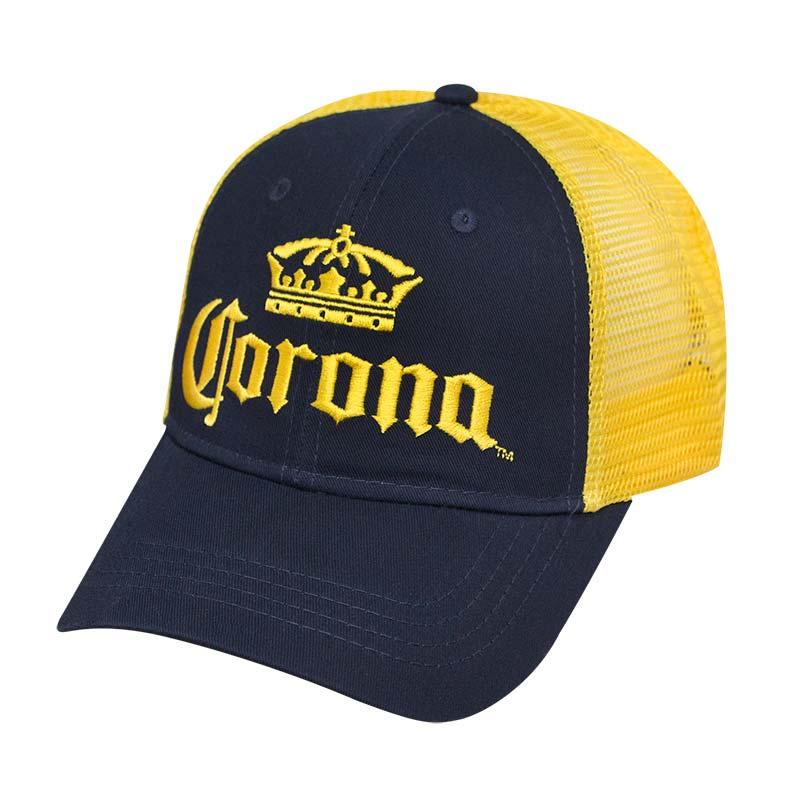 Corona Extra Mesh Yellow & Blue Snapback Hat