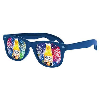Corona Beer Blue Dia De Los Muertos Bottle Opener Sunglasses