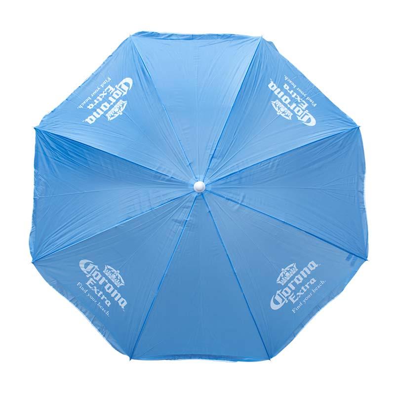 Corona Extra Beach Umbrella Sky Blue