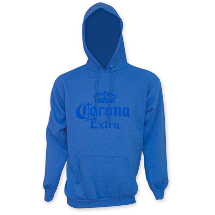Corona Extra Men's Blue Pullover Hoodie