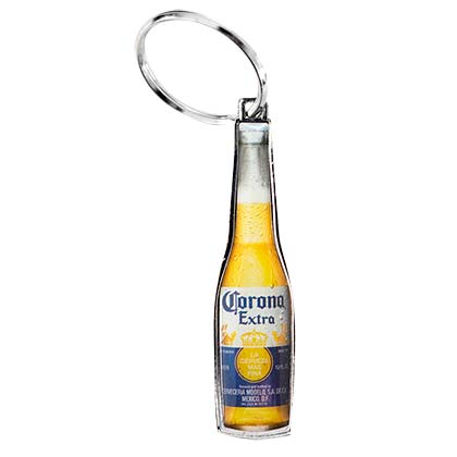 Corona Extra Bottle Shaped Keychain Opener