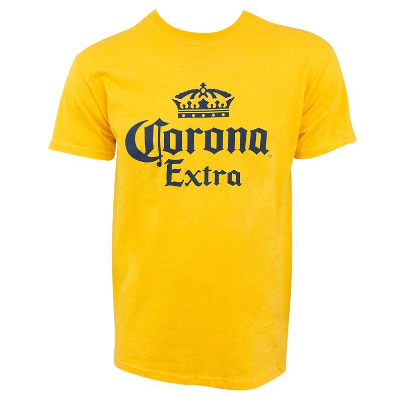 Corona Extra Logo Yellow Men's Tee Shirt
