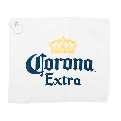 Corona Extra White Promo Golf Towel