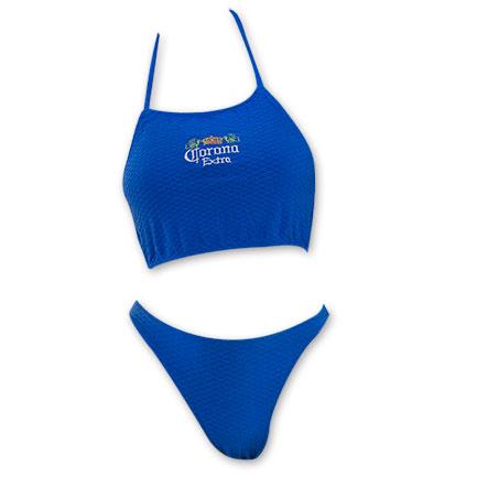 Corona Women's Halter Blue Bikini