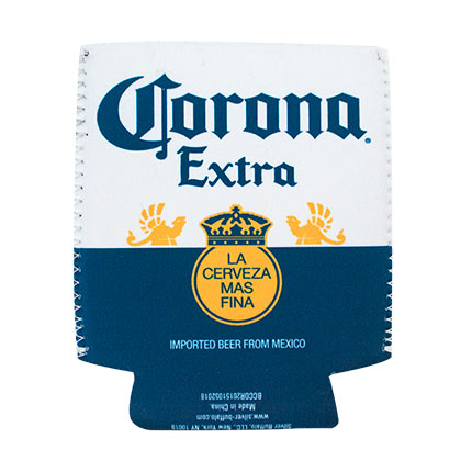 Corona Bottle Label Can Cooler