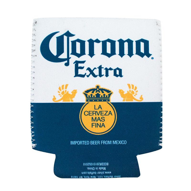 Corona Bottle Label Can Cooler