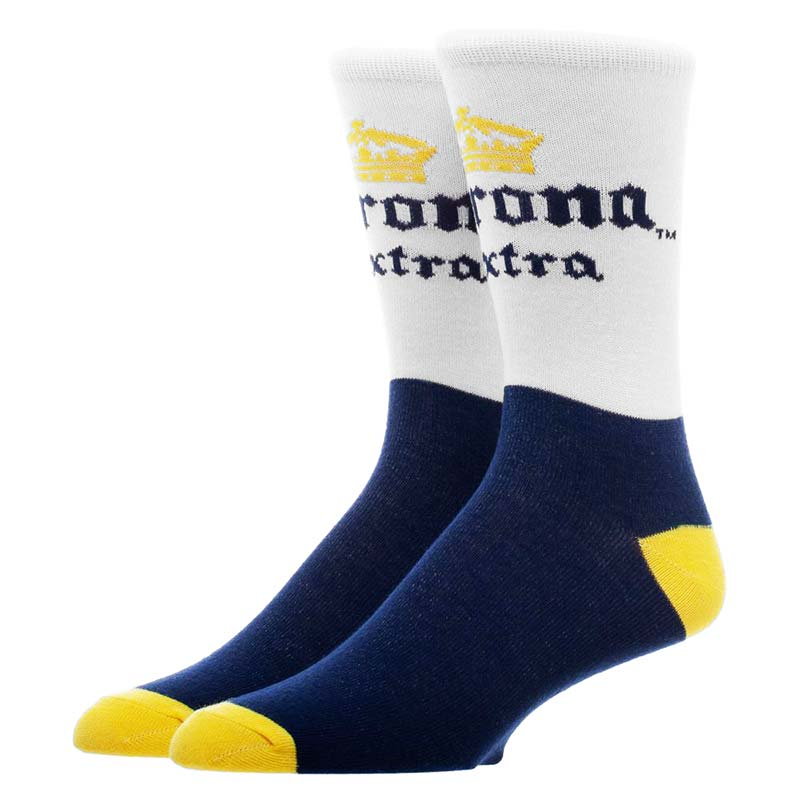 Corona Extra Classic Colors Men's Crew Socks
