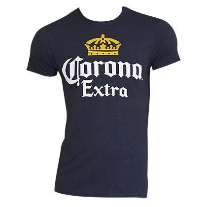 Corona Extra Slim Men's Navy Blue T-Shirt