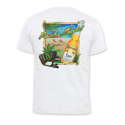 Corona Men's White Pack Light T-Shirt