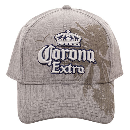 Corona Extra Palms Textured Men's Beige Hat