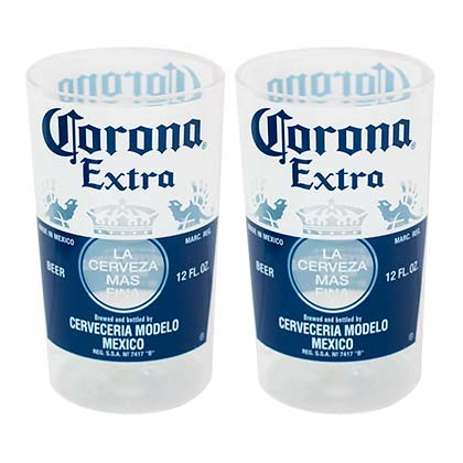 Corona Extra Beer Bottle Replica Cup Set