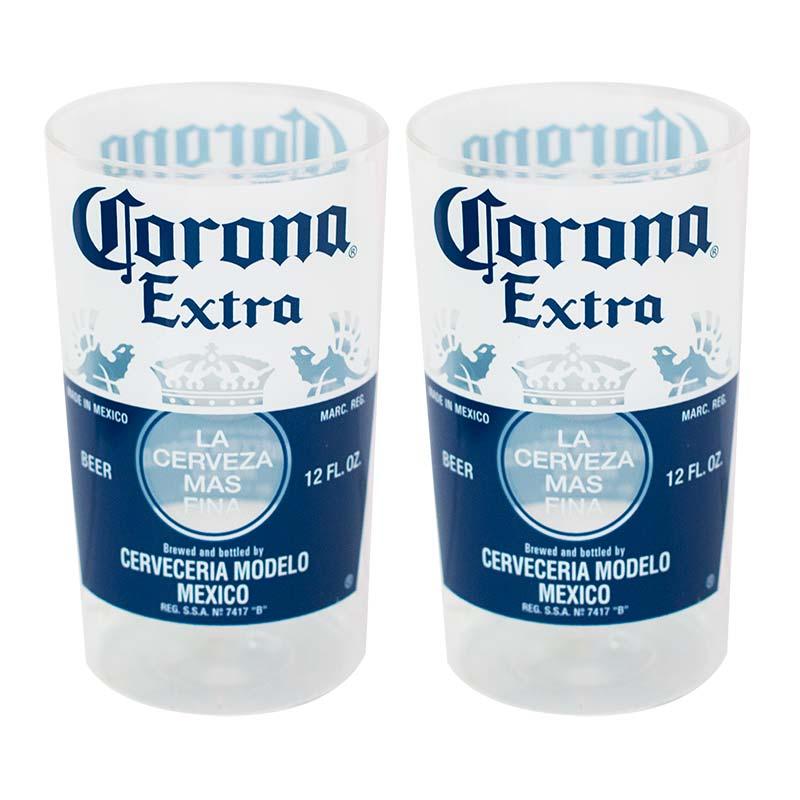 Corona Extra Replica Bottle Cup Set