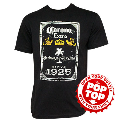 Corona Extra Since 1925 Bottle Opener Tshirt