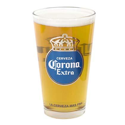 Corona Extra Round Logo Pint Glass