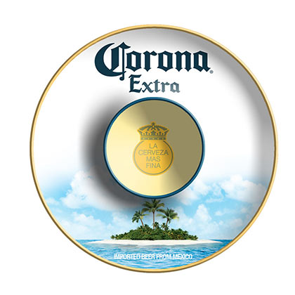 Corona Extra Chip And Dip Plate