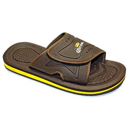 Corona Extra Slip On Men's Brown Sandals