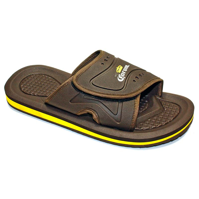 Corona Extra Brown Men's Slip On Sandals