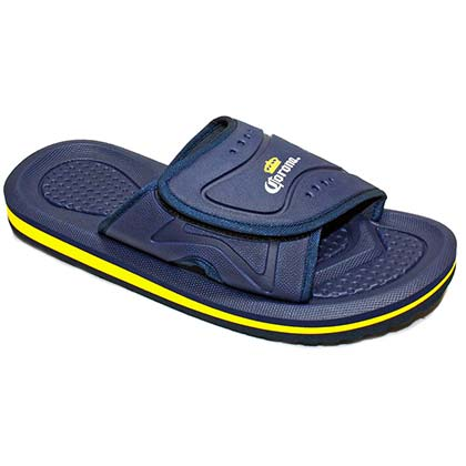 Corona Extra Slip On Men's Navy Blue Sandals
