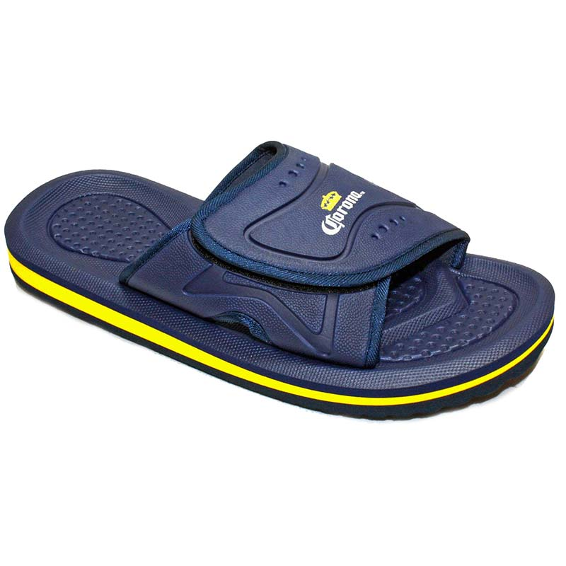 Corona Extra Navy Blue Men's Slip On Sandals
