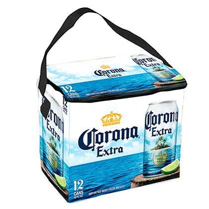 Corona Extra Soft 12 Pack Cooler Bag