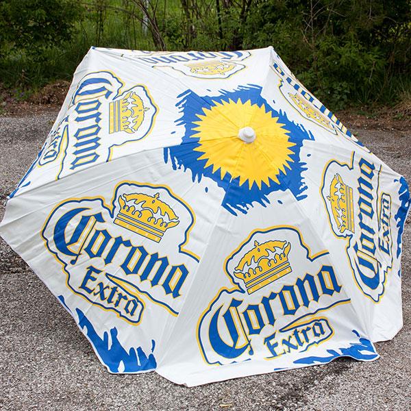 Bon Corona Extra Heavy Duty Vinyl Patio Table Umbrella