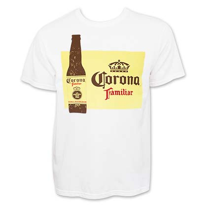 Corona Familiar Men's White T-Shirt