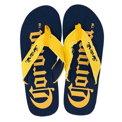 Corona Extra Big Logo Blue Men's Sandals