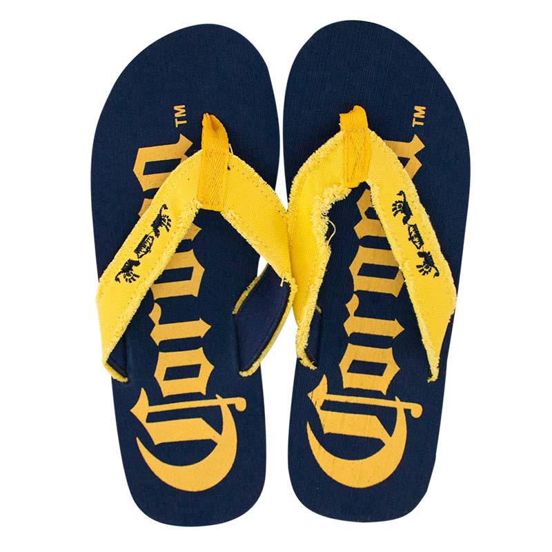 Corona Extra Big Logo Blue Men's Sandals