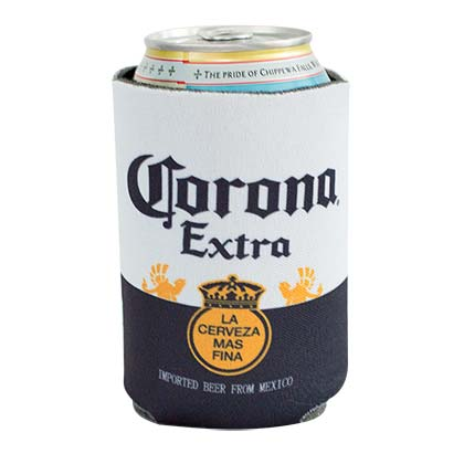 Corona Beer 12 OZ Label Koozie