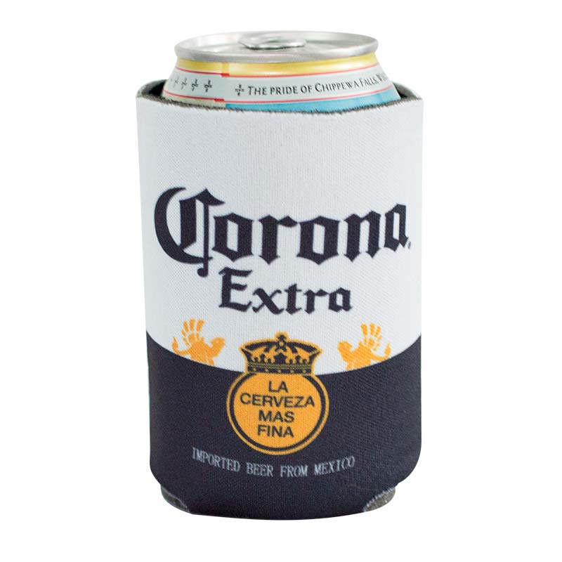 Corona 12 OZ Label Can Cooler
