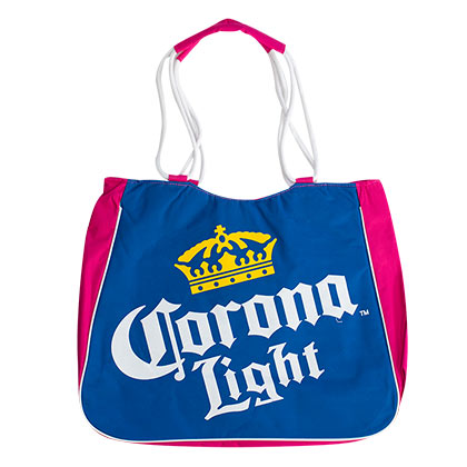 Corona Light Pink Insulated Tote Bag