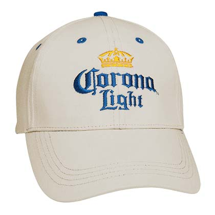 Corona Light Beer Beige Hat