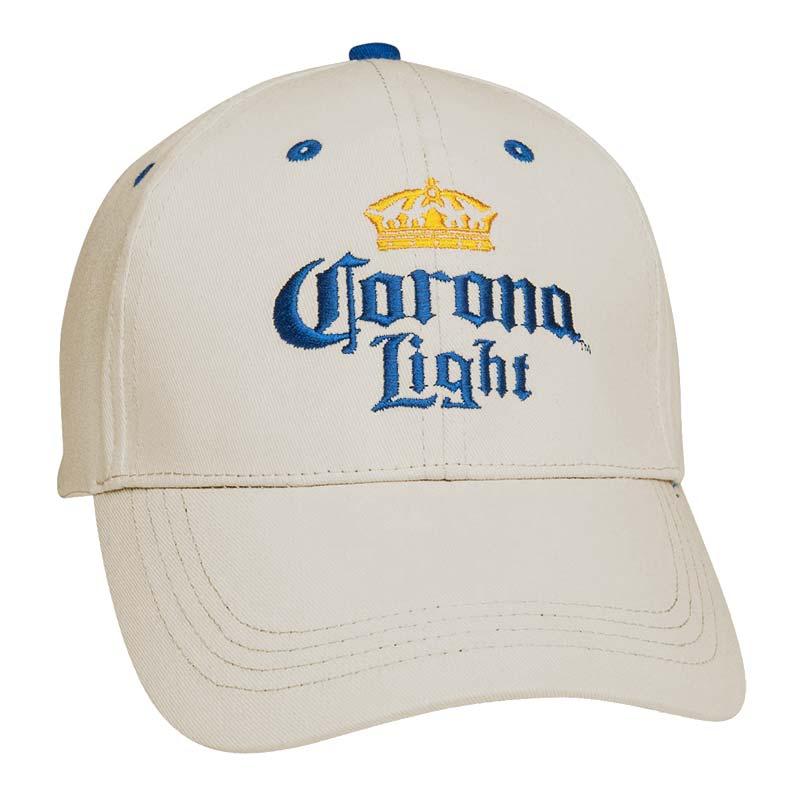 Corona Light Beer White Hat