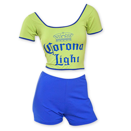 Corona Light Women's Party Outfit