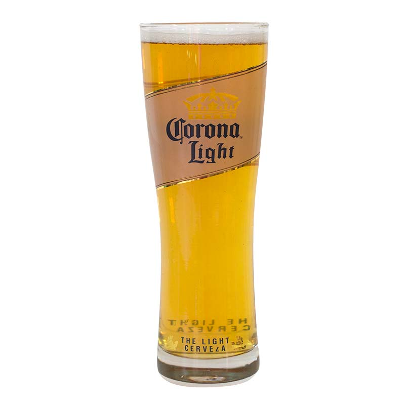 Corona light cerveza oslo pint glass for How to make corona glasses