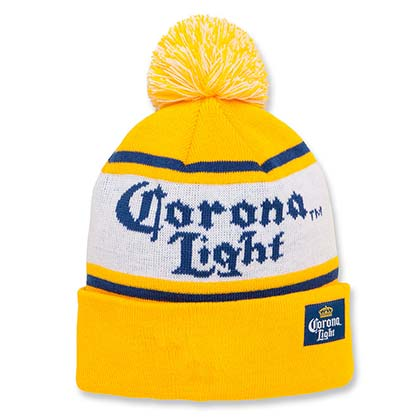 Corona Light Beer Winter Hat