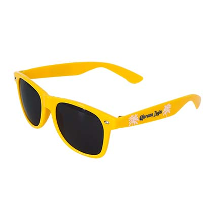 Corona Light Logo Yellow Sunglasses
