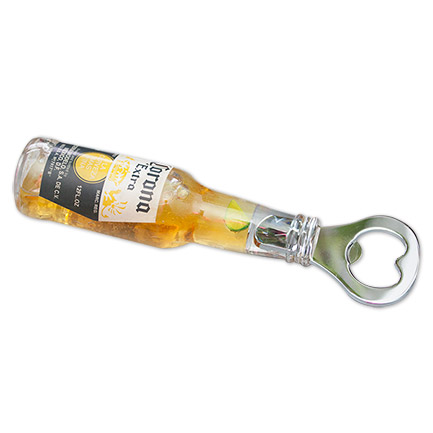 Corona Extra Bottle Opener - Floating Lime