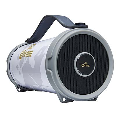 Corona White Tube Bluetooth Speaker