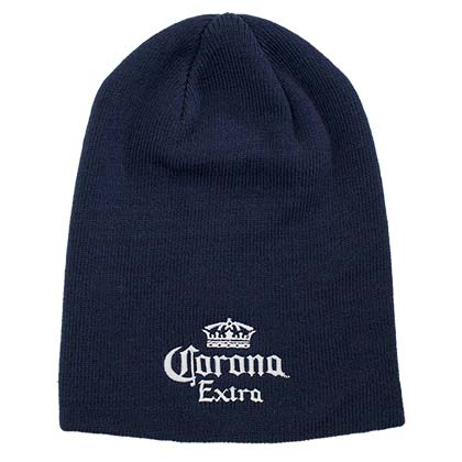 Corona Beer Navy Blue Beanie