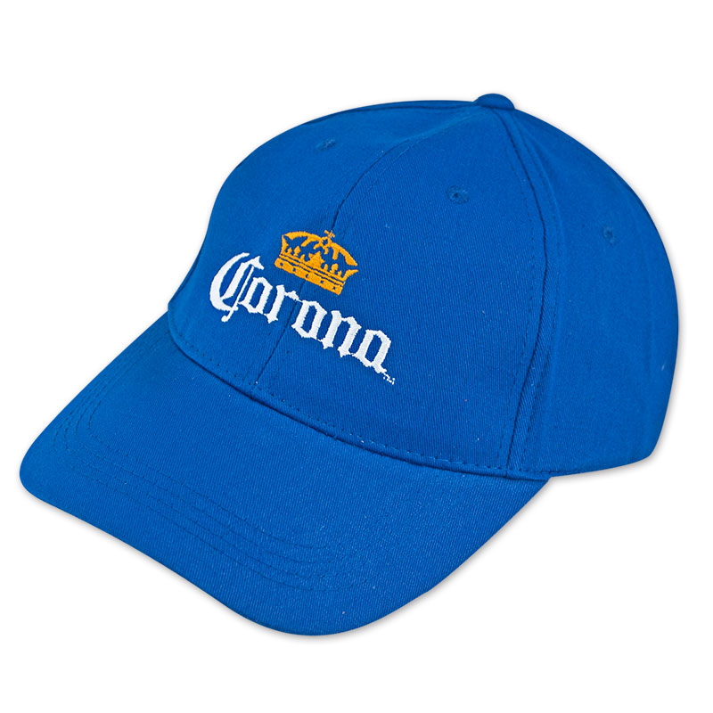 Corona Extra Crown Logo Blue Hat
